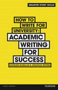 Picture of How to Write for University