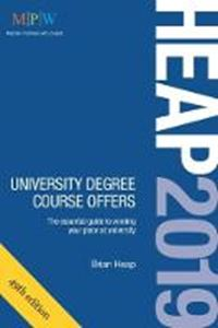 Picture of Heap 2019: University Degree Course Offers