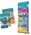 Picture of Career Motivators Roller Banner Standard Base