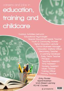 Picture of Careers and Jobs in Education, Training & Childcare Poster