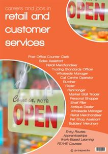 Picture of Careers and Jobs in Retail and Customer Services Poster