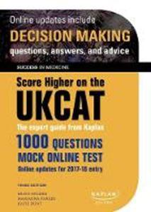 Picture of SCORE HIGHER ON THE UKCAT