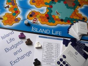 Picture of Island Life: Buying and Banking 9+