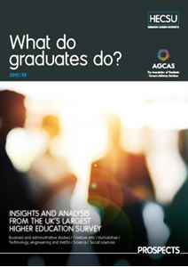 Picture of WHAT DO GRADUATES DO? 2018/19