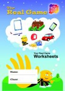 Picture of THE REAL GAME: STUDENT WORKSHEETS PAD (PACK OF 10)