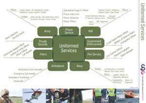 Picture of Uniform Services Poster
