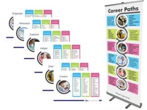 Picture of Career Paths Roller Banner: Standard Base