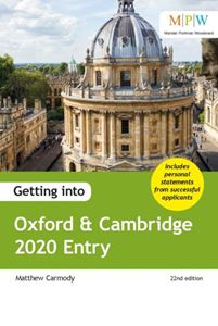 Picture of Getting into Oxford & Cambridge 2020 Entry