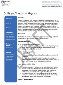 Picture of Gatsby 4 - Skills Lesson Plan - 15 Subjects