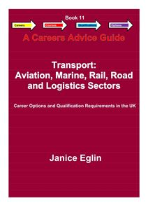Picture of Careers Advice Guide - Book 11 - Transport, Aviation, Marine, Rail, Road & Logistics PDF