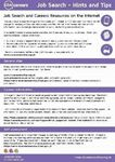 Picture of Job Search Hints & Tips PDF