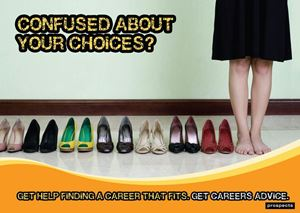 Picture of Confused about Your Choices? Poster