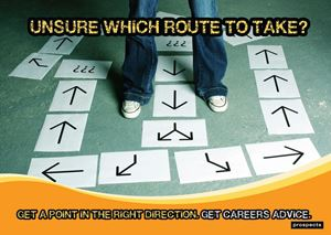 Picture of Unsure Which Route To Take? Poster