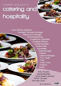 Picture of Careers and Jobs in Catering and Hospitality Poster