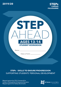 Picture of STEP Ahead for ages 13-14 2019/20 - Pack of 100