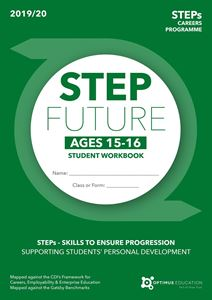 Picture of Step into the Future for ages 15-16 2019/20 - Pack of 100