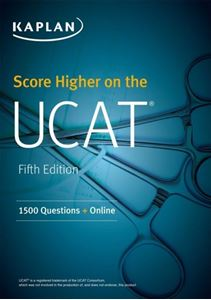 Picture of Score Higher on the UCAT: 1500 Questions & Online (Kaplan Test Prep)