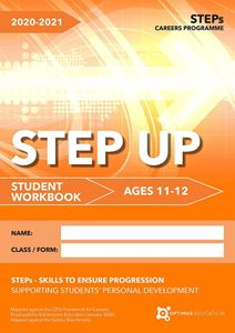 Picture of STEP Up for ages 11-12 2020-21 - Pack of 25
