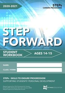 Picture of Step Forward for ages 14-15 2020-21 - Pack of 50