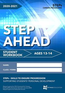Picture of Step Ahead for ages 13-14 2020-21 - Pack of 50