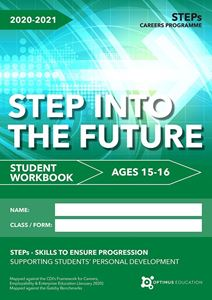 Picture of STEP into the Future for ages 15-16 2020-21 - Pack of 100